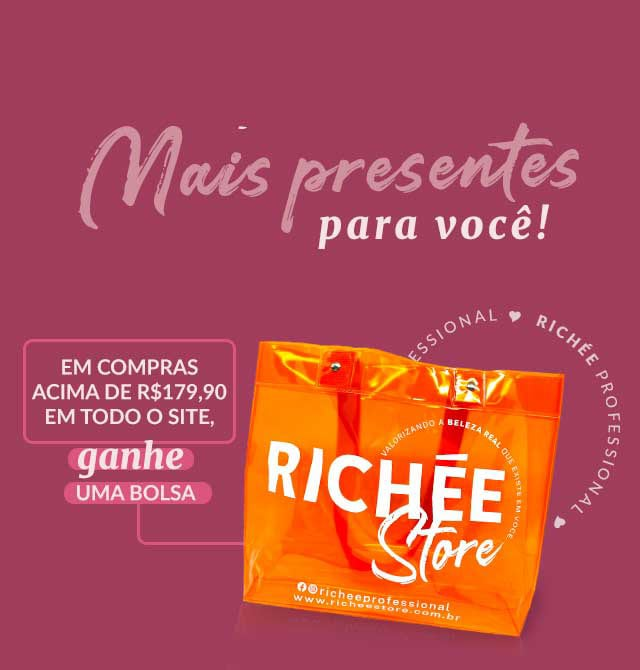 Ganhe bolsa exclusiva Richée Store