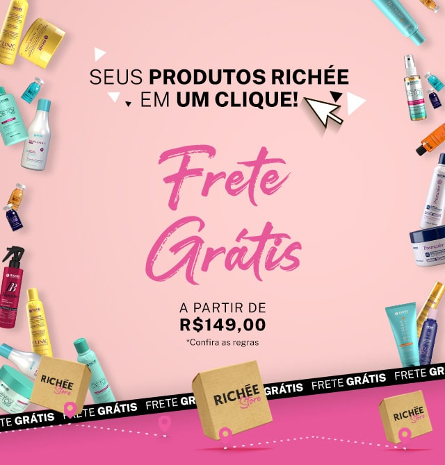 Frete Grátis Brasil a partir de R$149