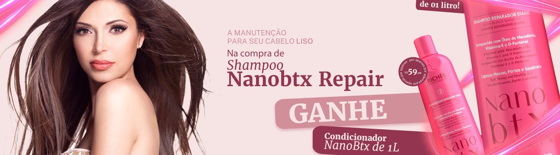 Richée NanoBTX Kit Profissional de Litro