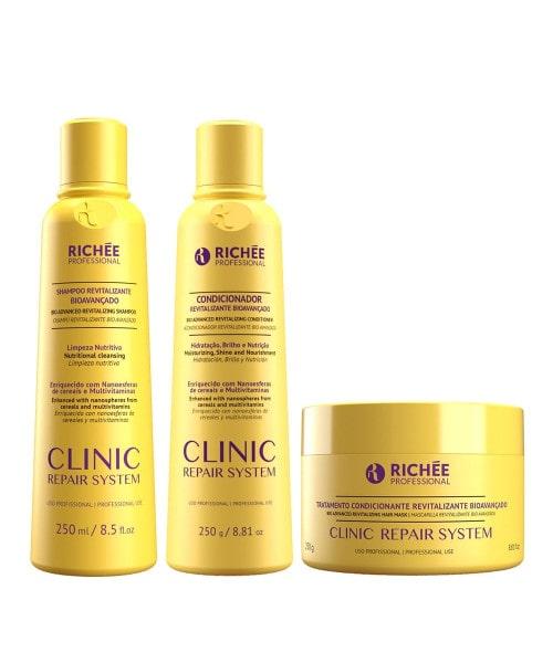 Richée Clinic Repair System Kit Shampoo Condicionador e Máscara