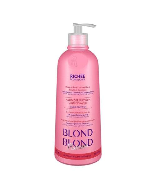 Richée Blond Blond Matizador Platinum Condicionador 500ml