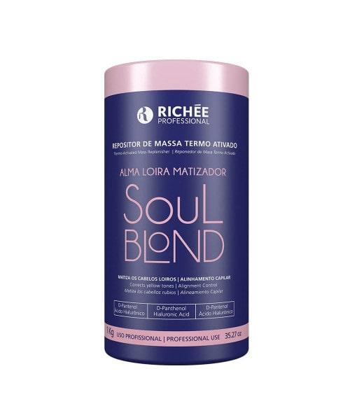 Richée Soul Blond Repositor de Massa Termo Ativado 1Kg