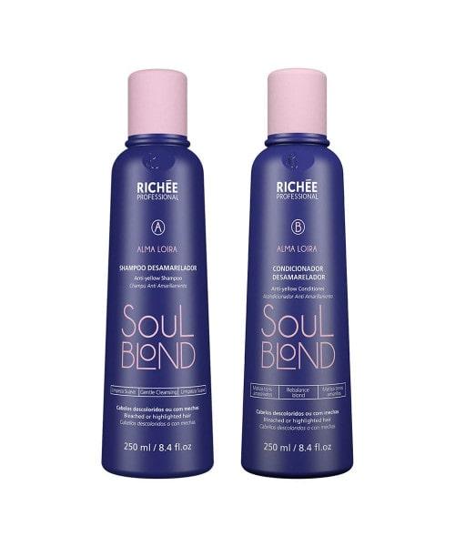 Richée Soul Blond Kit Shampoo e Condicionador (2x250ml)